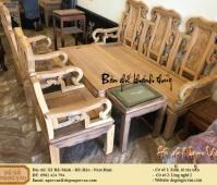 Salong khánh thủy gỗ gụ